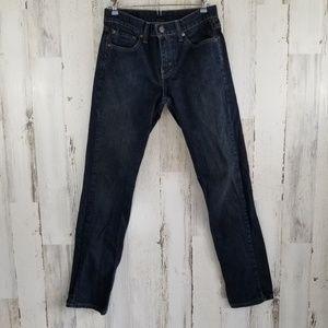 Levi's 511 Dark Wash Denim Jeans 29 x 32